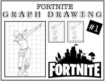 Early Finisher Activity - Fortnite Grid Drawing #1
