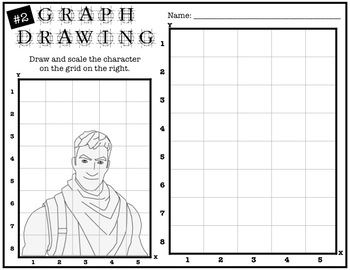Early Finisher Activity - Fortnite Grid Drawing #2