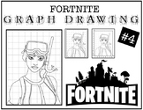 Early Finisher Activity - Fortnite Grid Drawing #4