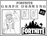 Early Finisher Activity - Fortnite Grid Drawing #5