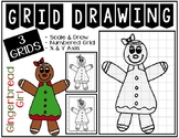 Early Finisher Activity - GINGERBREAD GIRL Grid Drawing