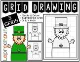 Early Finisher Activity - LEPRECHAUN Grid Drawing
