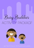Early Finisher Activity Package - Math, Language & Art