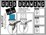 Early Finisher Activity - SNOWMAN Grid Drawing