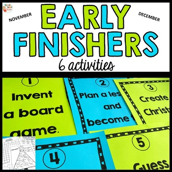 Early Finishers - Christmas