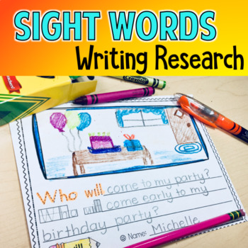 Early Finisher Digraphs Sight Words High Frequency Handwriting