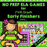 Early Finishers: First Grade Early Finisher Activities and Literacy Centers