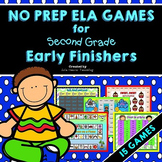 Early Finishers: Second Grade Early Finisher Activities and Literacy Centers