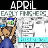Early Finishers First Grade Journal April