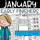 First Grade Early Finishers January