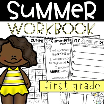 First Grade Summer Review Pack July
