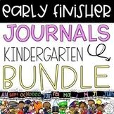 Kindergarten Early Finishers Activities Distance Learning BUNDLE