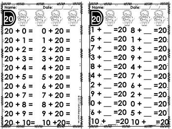 Early Finishers Math Fluency