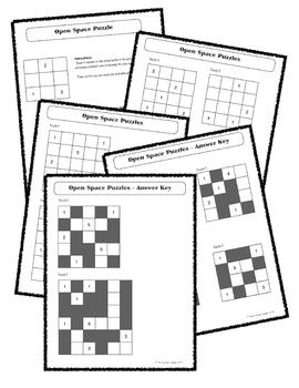 Early Finisher Math/Logic Puzzles - No prep!