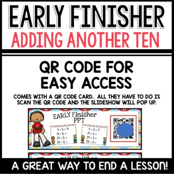 Adding Ten   Early Finisher