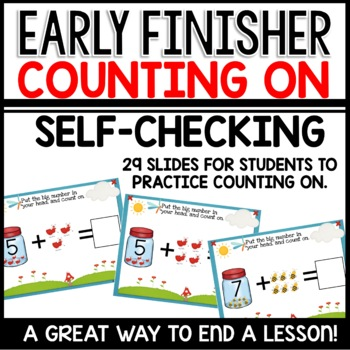 Counting On | Early Finisher | Module 1