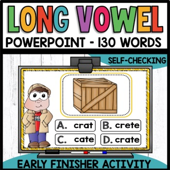 LONG VOWELS Early Finisher PPT