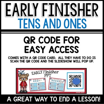 Early Finisher PPT Match the tens and ones
