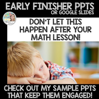 Early Finisher PPTS SAMPLE