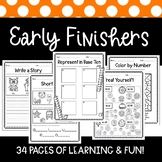 Early Finisher Packet {1st Grade}