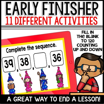 Early Finisher PowerPoints