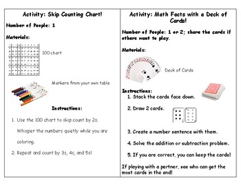 Early Finisher-Quick Activity Instructions