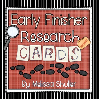Early Finisher Research Station