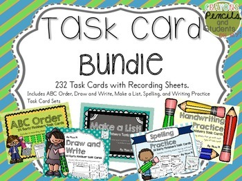 Early Finisher Task Cards - Bundle Pack