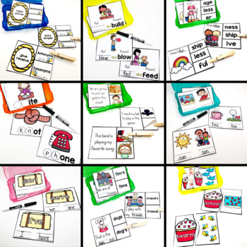 Early Finisher Task Cards for Second Grade - Year Long Bundle