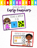 Early Finisher Task - Kindergarten Counting Practice