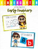 Early Finisher Task - Kindergarten Letter Practice
