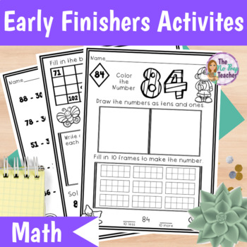 Early Finishers Math Packet for March