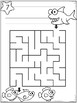 Mazes With Short Writing Tasks