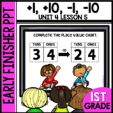 Early Finishers Activities | +1, -1, +10, -10 | Module 4 Lesson 5
