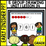 Early Finishers Activities | 5-group drawings | Module 1 l
