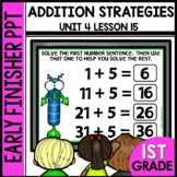 Early Finishers Activities | Addition Strategy | Module 4