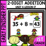 Early Finishers Activities | Double-Digit Addition | Module 4 Lesson 17