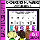 Early Finishers Activities | Ordering Numbers | Module 4 Lesson 8