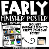 Early Finishers Activities Poster