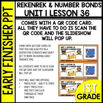 Early Finishers Activities | REKENREK | Module 1 lesson 36
