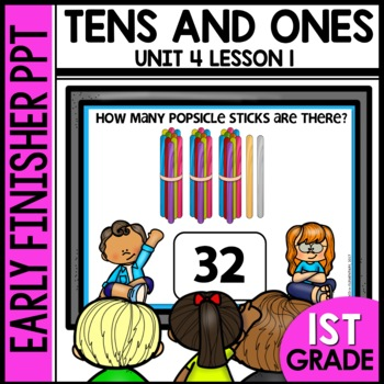 Early Finishers Activities | Tens and Ones | Module 4 Lesson 1