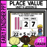 Early Finishers Activities | Tens and Ones | Module 4 Lesson 13