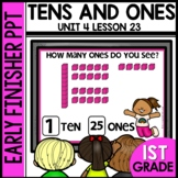 Early Finishers Activities | Tens and Ones | Module 4 Lesson 23