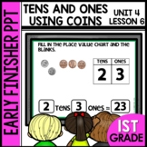 Early Finishers Activities | Tens and Ones | Module 4 Lesson 6