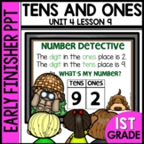 Early Finishers Activities | Tens and Ones | Module 4 Lesson 9