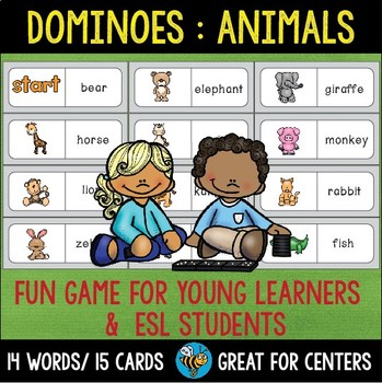 Early Finishers Activity | Dominoes: Animals