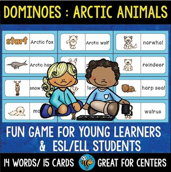 Early Finishers Activity | Dominoes: Arctic Animals