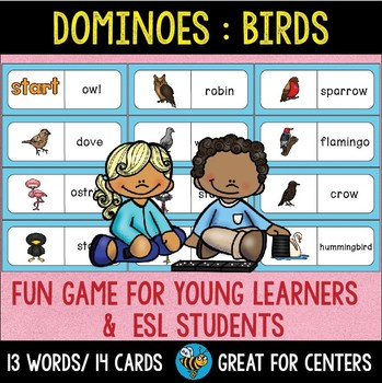 Early Finishers Activity | Dominoes: Birds