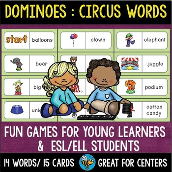 Early Finishers Activity | Dominoes: Circus