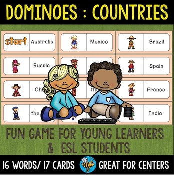 Early Finishers Activity | Dominoes: Countries